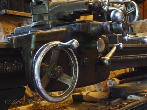 Lathe photo by Laura Hardesty